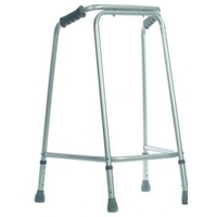 "Aluminium Walking Frame (Coopers) Non Folding Tall 5'8"" to 6'1"""