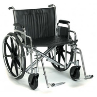 Breezy EC 2000 Wheelchair Steel Self Propelled 18""