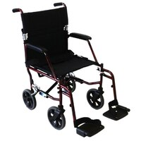 Shopper Transit Wheelchair Aluminum 8 X 8 wheels
