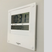 LCD Day-of-the-week Calendar Clock