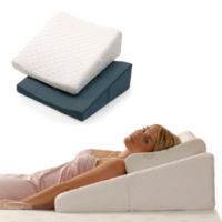 Contoured Bed Wedge Support Pillow