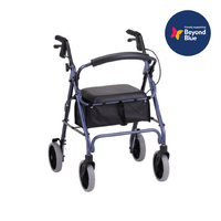 Rollator Deluxe (Four Wheel A Frame Plus)