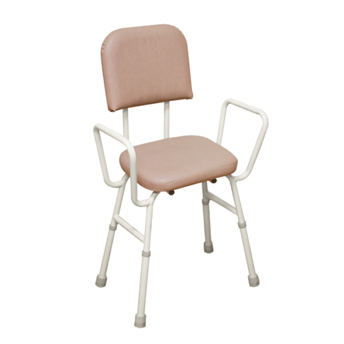 Kitchen Stool with Arms